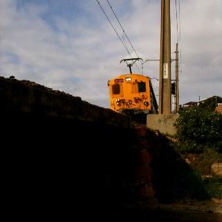 Train, Glencairn beach