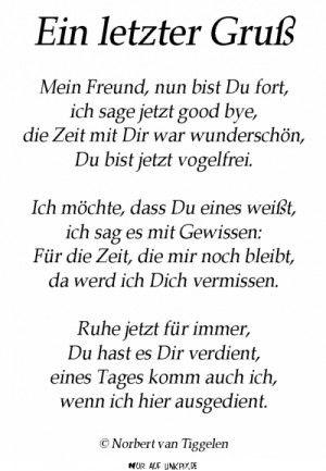 Charmant Pin By Elke Fuchs On Gedicht Und Sprüche | Gedichte Trauer, Sprüche Beerdigung,  Sprüche Trauer