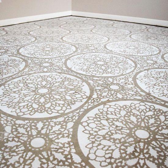 Mandala? vloerpatronen | diy #jmdinspireert