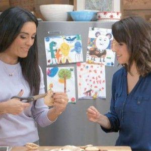 Alexandra Diaz Et Geneviève O'gleman, de l'émission Cuisine futée Crédit: Gontran Chartre