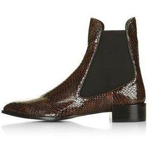 Belvoir Textured Chelsea Boots by Unique