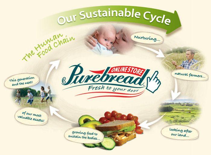 Organic bakery, gluten-free bread, healthy organic products
