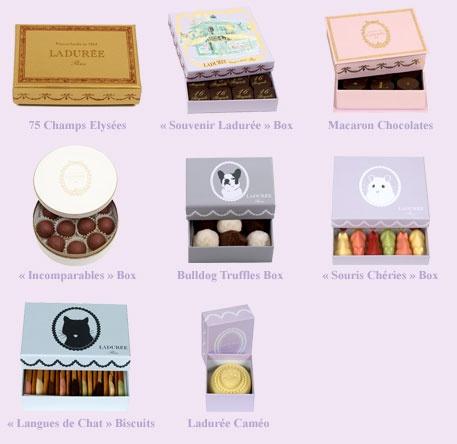 Ladurée Sweets & Gourmandises