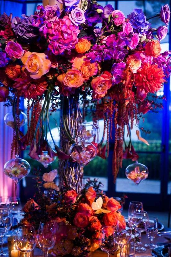 Colorful Sunset Wedding Inspiration