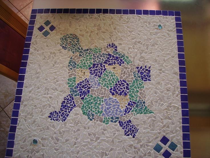10 best mosaik selwer gemeet images on pinterest mosaic. Black Bedroom Furniture Sets. Home Design Ideas