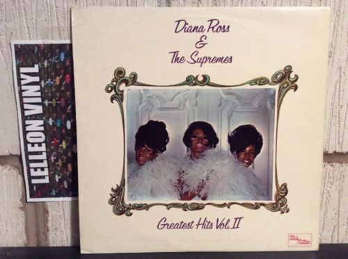 Diana Ross & The Supremes Greatest Hits Vol 2 STML11146 Tamla Motown 60's Music:Records:Albums/ LPs:R&B/ Soul:Motown