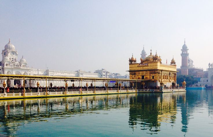 An absolutely amazing morning at the Golden Temple in Amritsar. The must-see of North India. Your head must be covered (free head covers are provided) and you will be fed, watered and made to feel at home amongst the many others on their pilgrimage there. You might even catch a worship band playing traditional Sikh instruments. Pause and take it all in!#goldentemple #india #travel #tolerance #religion