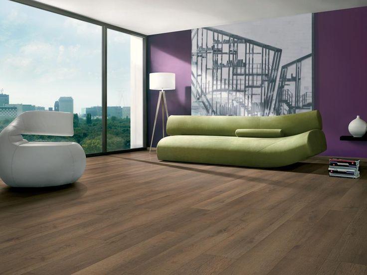 Elf Majestic Whiskey Oak 8 mm Unifit Laminated Flooring | CTM