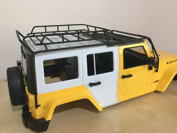 1 10 Scale Jeep Wrangler Rubicon 5 Doors 313 Mm Hand