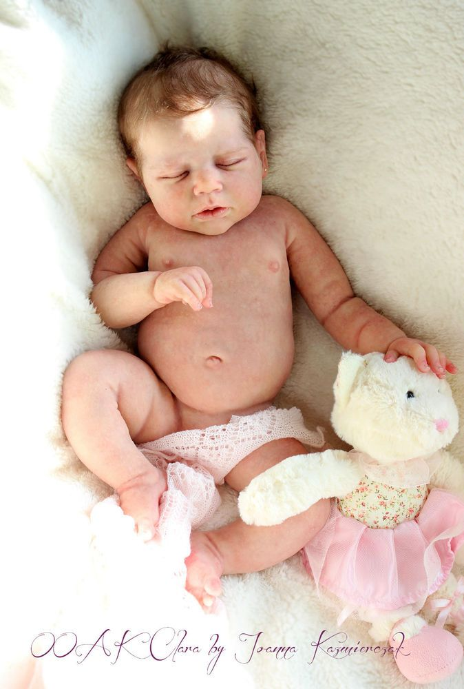 Full Body Silicone Baby Doll Clara                              …