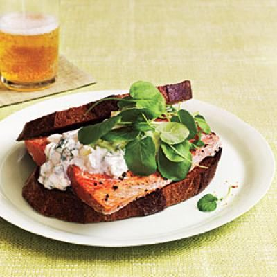 Salmon Sandwiches | CookingLight.com