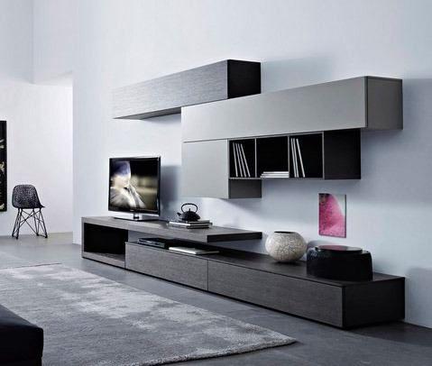 Best 25 muebles para tv minimalistas ideas on pinterest for Muebles de living