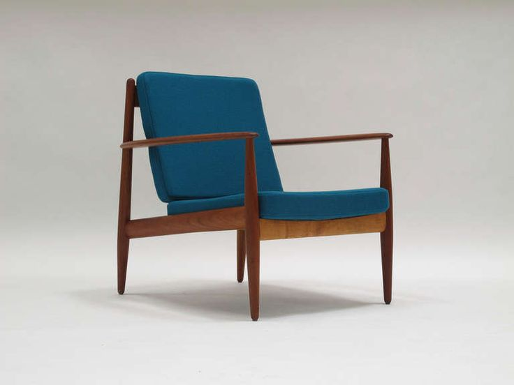 Greta Jalk Danish Lounge Chairs | From a unique collection of antique and modern lounge chairs at https://www.1stdibs.com/furniture/seating/lounge-chairs/