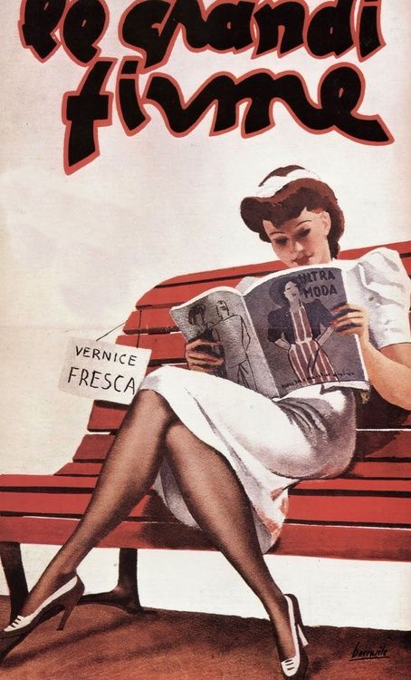 Vintage Italian Posters ~ Gino Boccasile