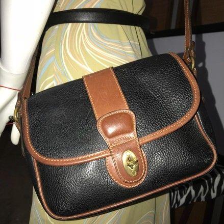 66fd63225 Coach Sheridan Mayfield Equestrian Pebble 4224 Black Leather Cross Body Bag  - Tradesy