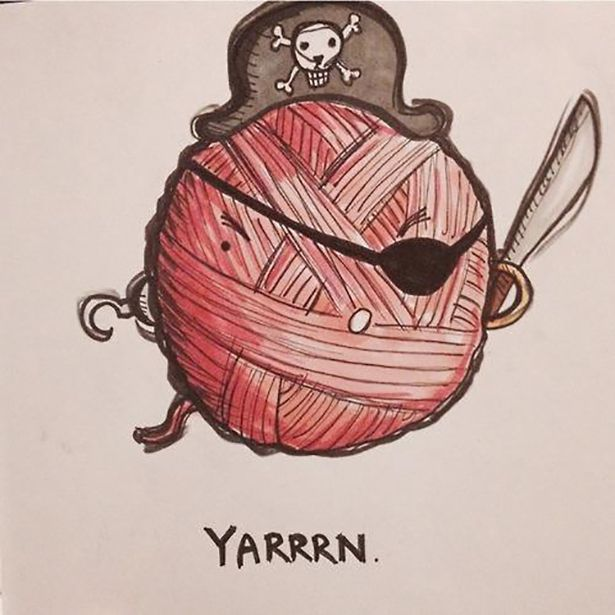 Best Knitting Puns : Best images about knitting yarn labels