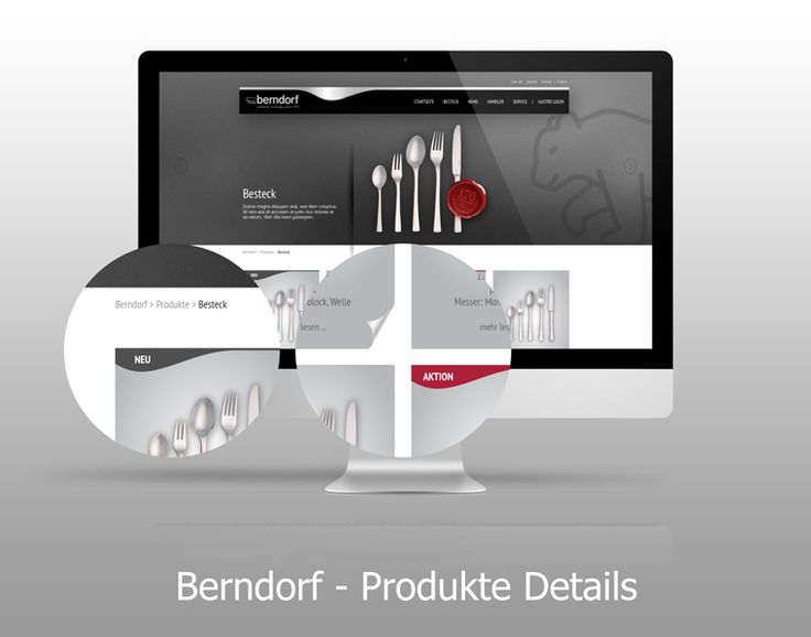 Homepage - front: products details