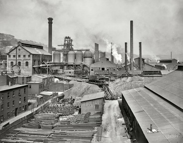 Natonal Tube Works 1910 Mckeesport Pennsylvania