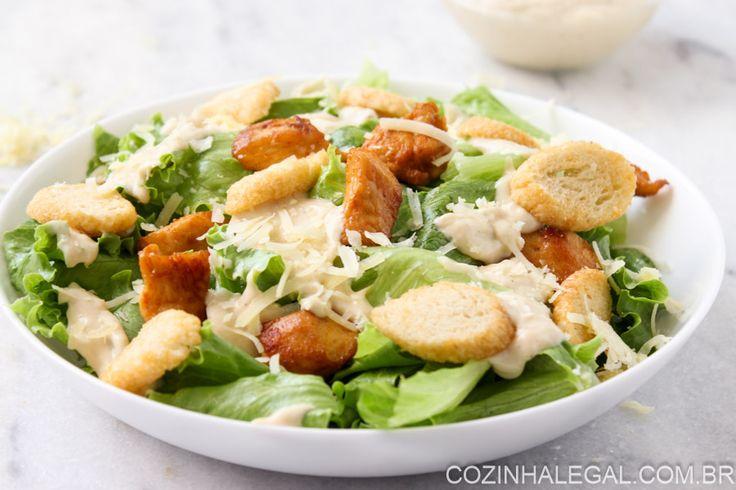 Salada Caesar | Cozinha Legal