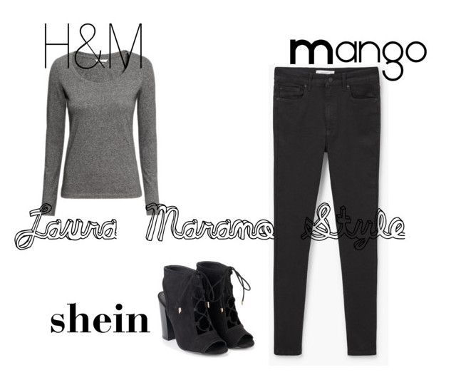 """""""Laura Marano Style"""" by saragrodrigues on Polyvore featuring moda, MANGO e H&M"""