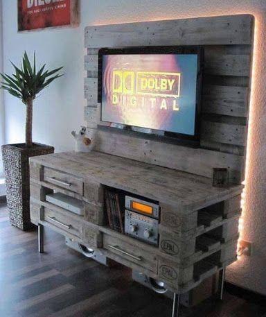 607 best ideas diy con palets images on pinterest home for Decoracion con palets
