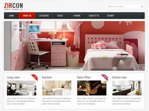 Build any kinds of website with a simple three-column responsive template.