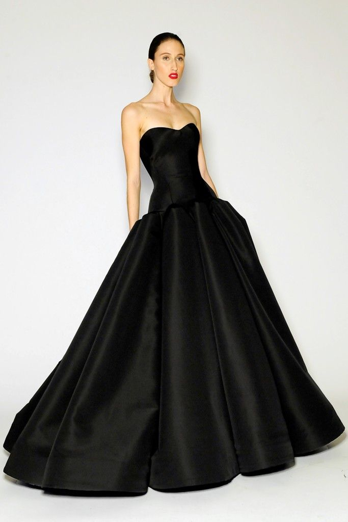 10 Best images about ZAC POSEN on Pinterest  Silver gown Blazers ...