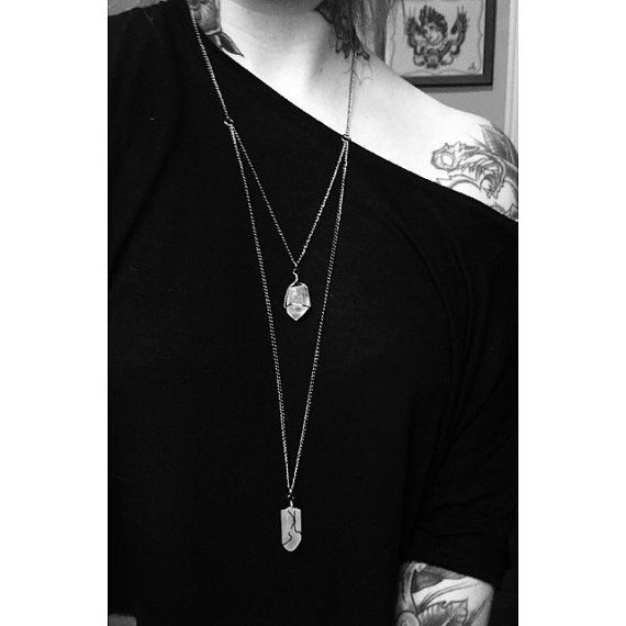 Gemina | Double Amethyst Necklace