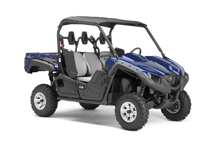 New 2017 Yamaha Viking EPS SE ATVs For Sale in Pennsylvania. 2017 YAMAHA Viking EPS SE, Smooth Good Looks...The Special Edition Viking EPS pairs a smooth off-road capable ride with high-quality Midnight Blue Metallic painted bodywork, cast aluminum wheels, a hard sun top, overfenders, and underseat storage. This true 3-passenger machine achieves driver and passenger comfort with a handhold, padded head rests, and 3-point seat belts for all riders. Extensive noise and vibration reduction…