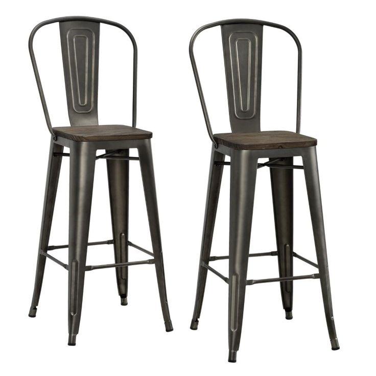 Farmhouse Bar Stools Under $100  sc 1 st  Pinterest & Best 25+ 24 inch bar stools ideas on Pinterest | Hand painted ... islam-shia.org