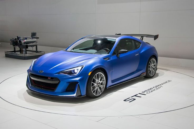 subaru BRZ STI performance concept unveiled at 2015 new york auto show