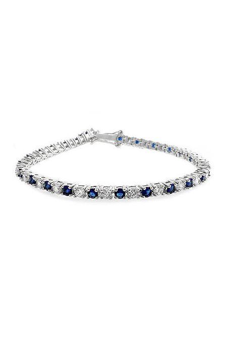 Classic Tennis Bracelet in Sapphire