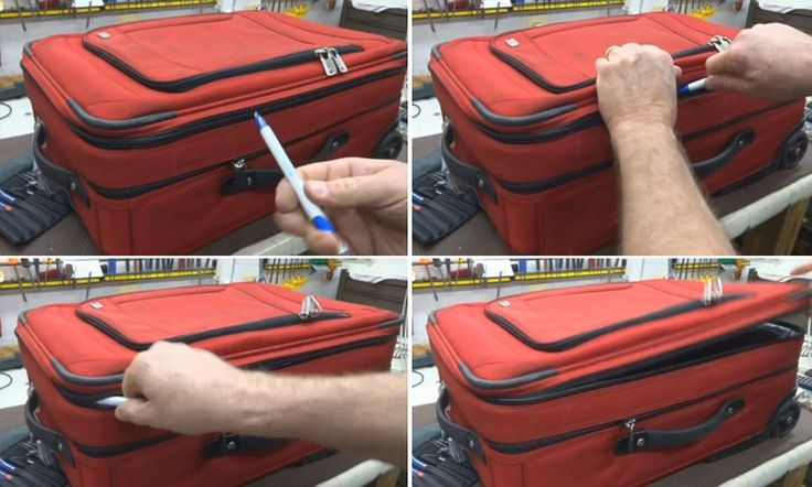 Shocking video shows just how easy it is to break into your suitcase