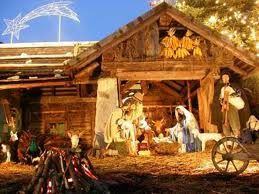 Nativity Scene.. Favorite thing to see around Christmas time!!