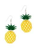 Pineapple Earrings   Mink Schmink