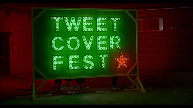 """We decided to take music to the world's biggest stage, Twitter. We created the first festival of sung tweets in history, """"Tweet Cover Fest """". A festival in which users could take part by sending a dedicatory to a friend in the form of a tweet; these 140 characters were turned into six second songs, which were then returned to the author and the person that the tweet was dedicated to in real time through a Vine video."""