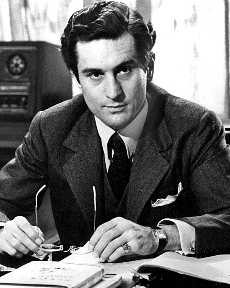 "Robert De Niro in ""The Last Tycoon"" (1976). Director: Elia Kazan."