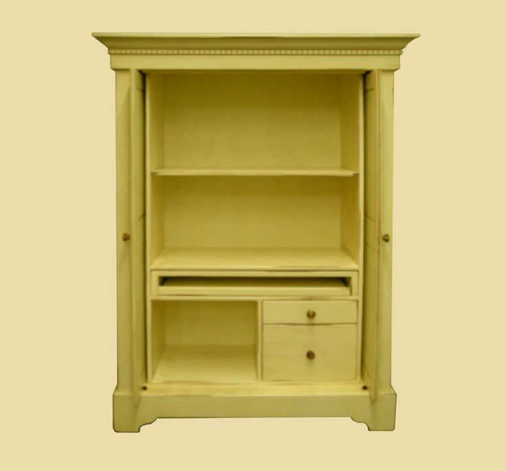 Best 25 computer armoire ideas on pinterest craft armoire computer desk organization and - Computer armoires for small spaces property ...