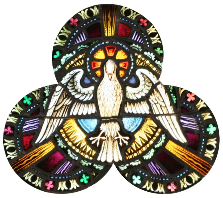 Epiphany Star in stained glass church windows | These pictures show some wonderful details of the interior of St. Paul ...