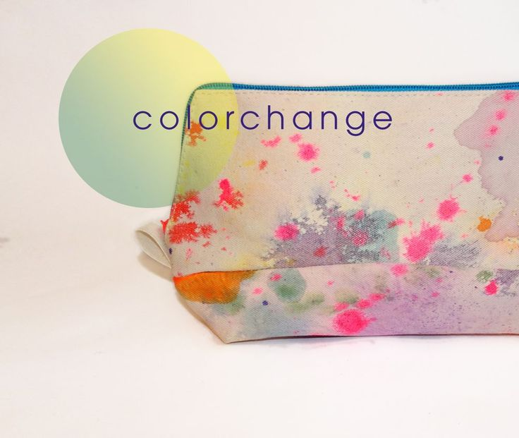 COLOR CHANGING COSMETIC CASE via rainbow warriors by esther zahn. Click on the image to see more!