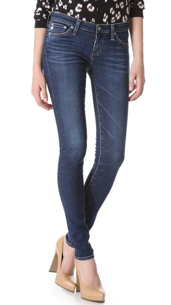 AG Adriano Goldschmied The Skinny Legging Jeans - I am stalking these like a crazy person!