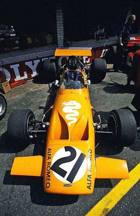 1970 Andrea de Adamich, Bruce McLaren Motor Racing Team, McLaren M7D Alfa Romeo