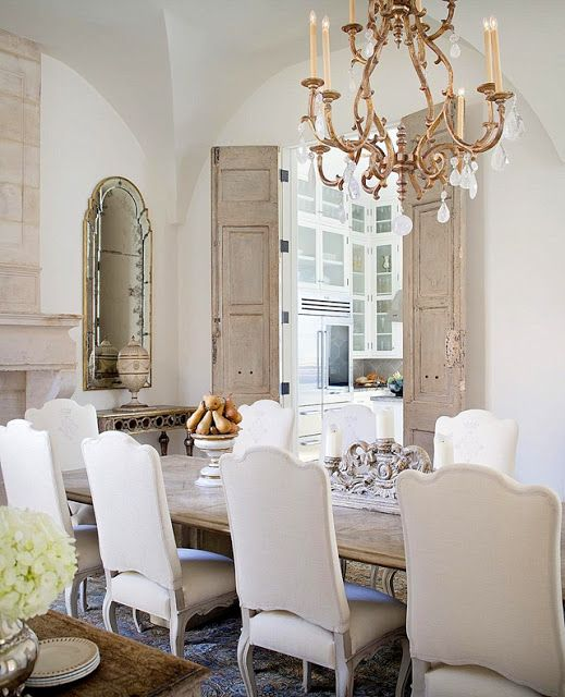 9 Best Formal Dining Room Images On Pinterest: Interior Design: Annelle Primos, Reclaimed Doors: Chateau