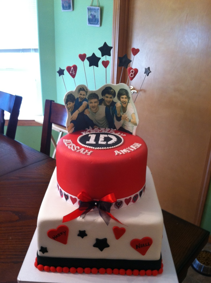 Pleasant 100 One Direction Happy Birthday Cake One Direction Funny Birthday Cards Online Elaedamsfinfo