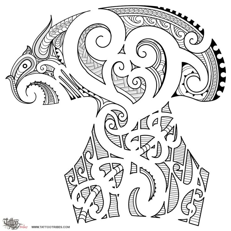Roger In Maori styled designs, both black parts and blank spaces are equally important to convey a message; right on the shoulder there are 4 korus cut out of the design for the 4 elements of Roger´s family: the biggest one on the left is him, with the blank motif going down to the bottom of the tattoo in a design that represents[...] http://www.tattootribes.com/index.php?newlang=English=6398