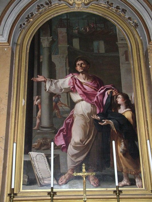 Saint of the Day – 30 August – St Pammachius (c 340 – 410 at Rome, Italy of natural causes) – Senator, Monk, Apostle of Charity, friend of St Jerome.  St Pammachius was a distinguished Christian layman who lived in the fourth century.   As a young student, he had become friends with St. Jerome.   They remained friends all their lives and kept an ongoing correspondence.   His wife was Paulina, the second ..