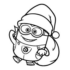 Kerst Minions Kleurplaat Top 35 Despicable Me 2 Coloring Pages For Your Naughty