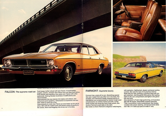 Ford Falcon Fairmont XB 1975. The first car I owned.