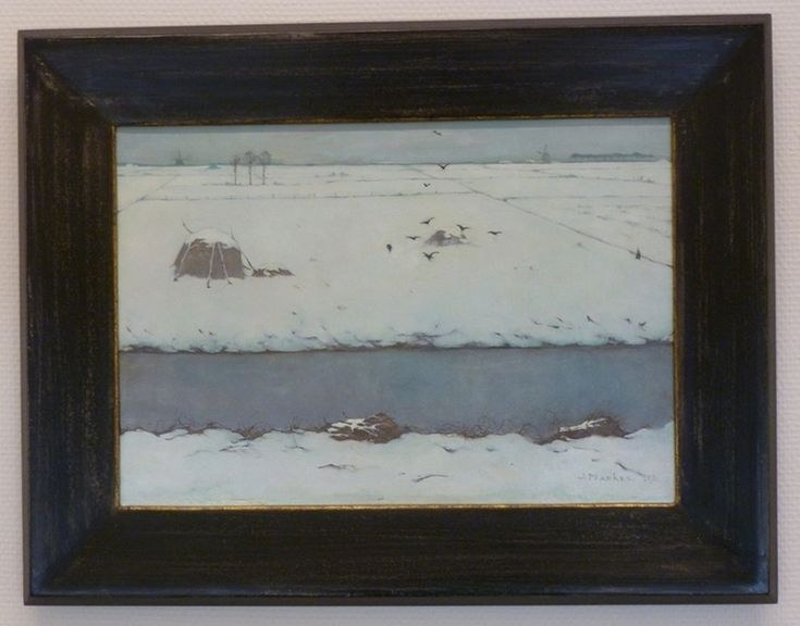 jan mankes | Jan Mankes in Kunstzaal de Rietvink, Wassenaar, 1927