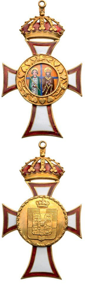 ROYAL HOUSE ORDER OF SAINTS GEORGE AND CONSTANTINE : Lot 963